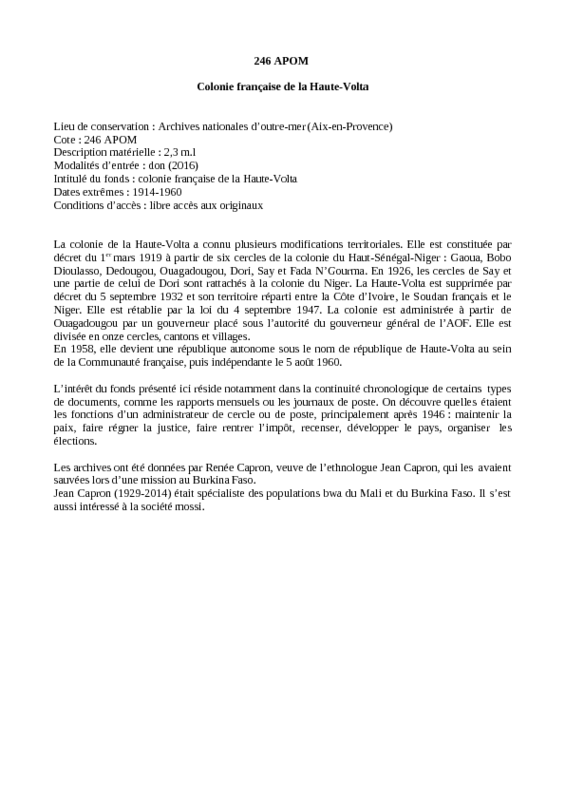 Page de couverture du document