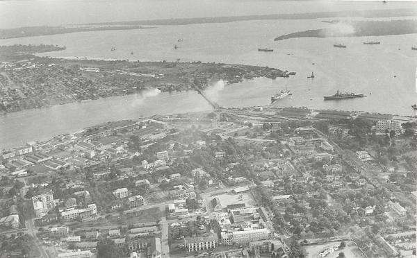 Abidjan in the late colonial period